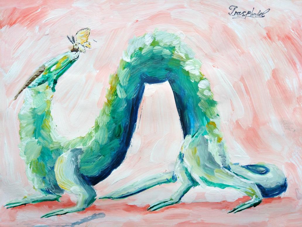 Aquamarine touch by IrinaAsphodel