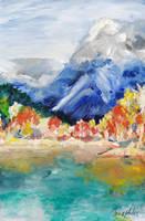 Mountains by IrinaAsphodel