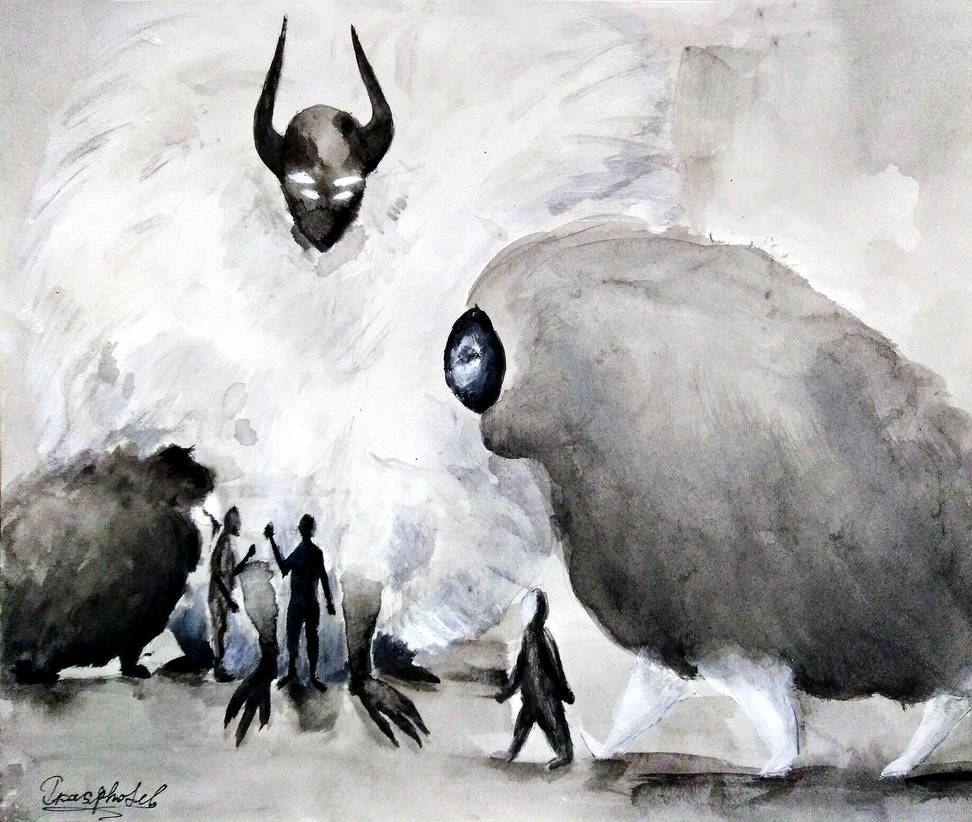 Watch your demons by IrinaAsphodel