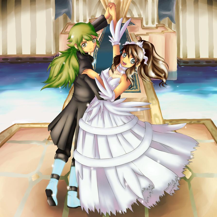 N and touko wedding - Pokemon A Last Dance By Kurachan90