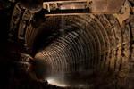 Rainy tunnel by drangnel