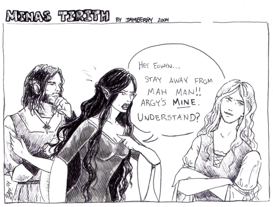 minas tirith comic no  1 by jamberry on deviantart
