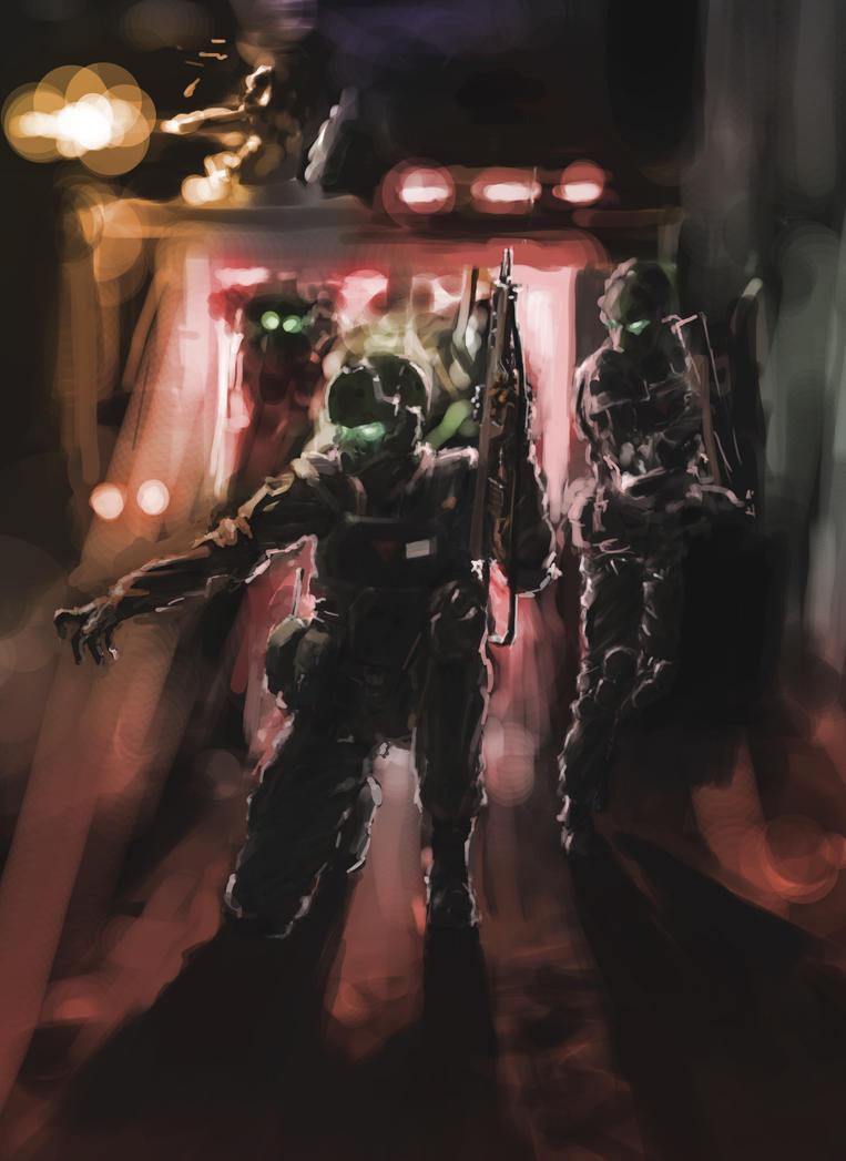 random future soldier by brinjal