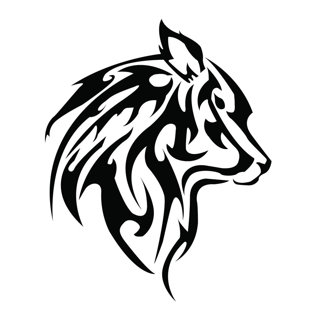 Tribal Wolf Wallpaper: Wolf Tribal By Gianniz1 On DeviantArt