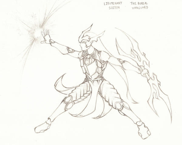 Fan Art: Lieutenant Sozen by GtGW