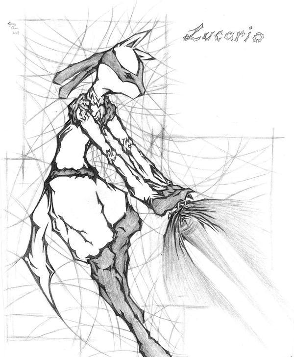 FanA Art: Lucario by GtGW