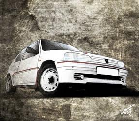 206 Rallye by brokenheartburning