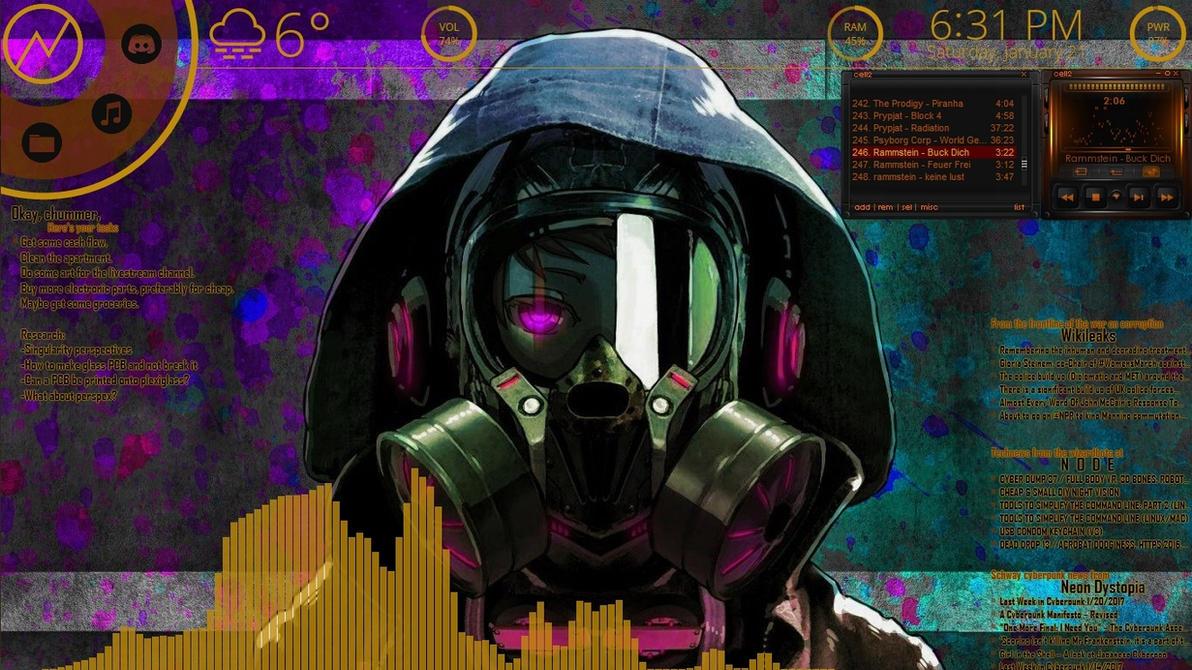 Cyberpunk Desktop V2 by DR490NW4RRI0R