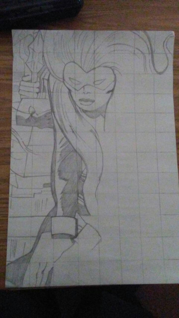 comic grid drawing  by artsusenpai