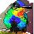 Free Fiery Throated Hummingbird Icon by Anti-Dark-Heart