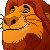 Free Pixel Mufasa Icon by AntiDarkHeart