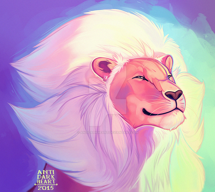 Lion by AntiDarkHeart