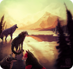 Mountain Pass - Collab Commission