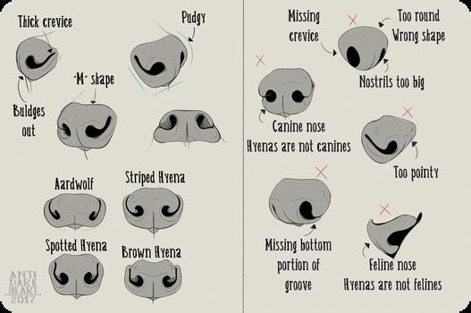 Realistic Hyena Nose Tutorial