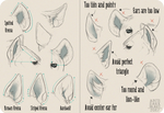 Realistic Hyena Ear Tutorial