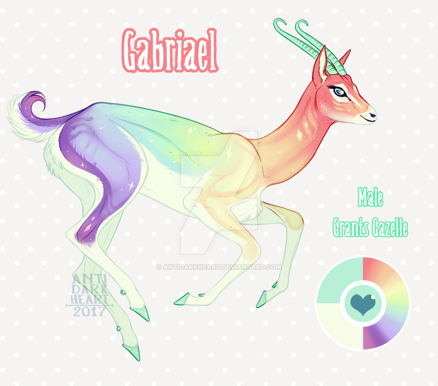 Gabriael Reference by AntiDarkHeart