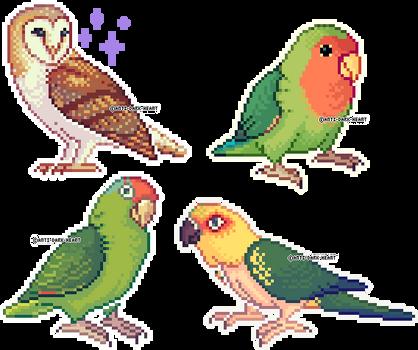 Bird Sprites 3