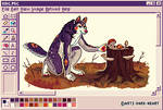 King MS Paint Sprite - Commission