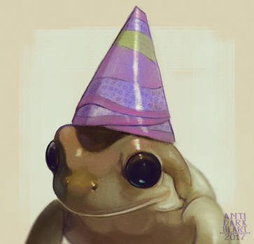 Party Frog - Commission