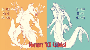 Mermay Collab YCH - OPEN