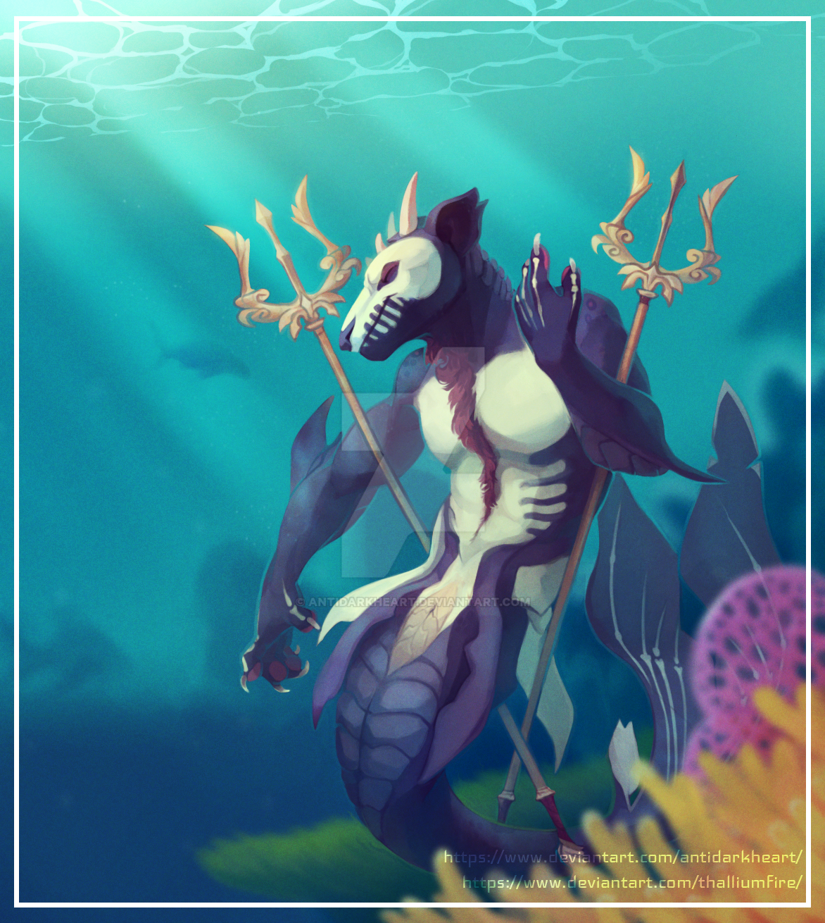Mermay Collab - Commission by AntiDarkHeart on DeviantArt