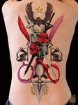 Anime Tattoo by GS _ DUEL