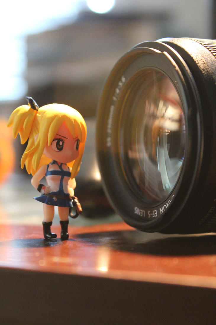 Lucy with Canon by Proto-jekt