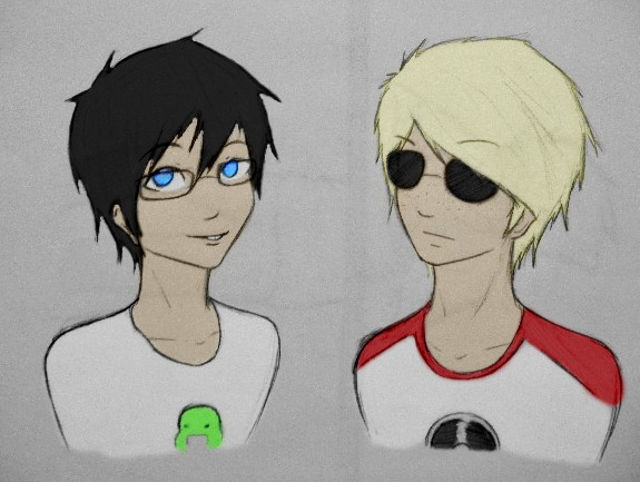 John Egbert And Dave Strider John Egbert and Dave S...
