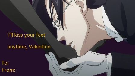 Black Butler Valentine Card 2 by Catchmewithyourlips