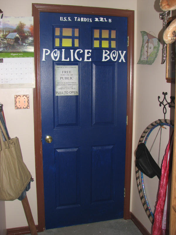 My Doctor Who Tardis door by AuberyMirkwood ... & My Doctor Who Tardis door by AuberyMirkwood on DeviantArt
