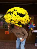 Flower Hair by caspercrafts