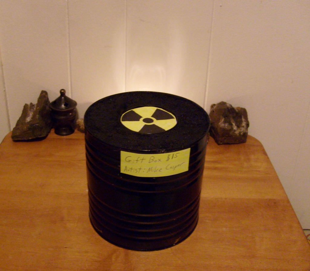 Radioactive Tritium Gift Box by caspercrafts