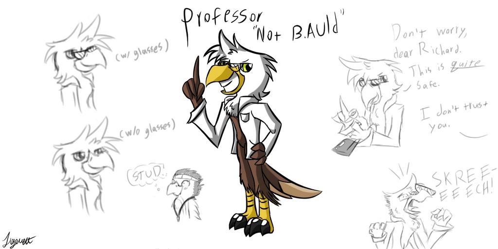 Prof. Not B. Auld by Tigerett