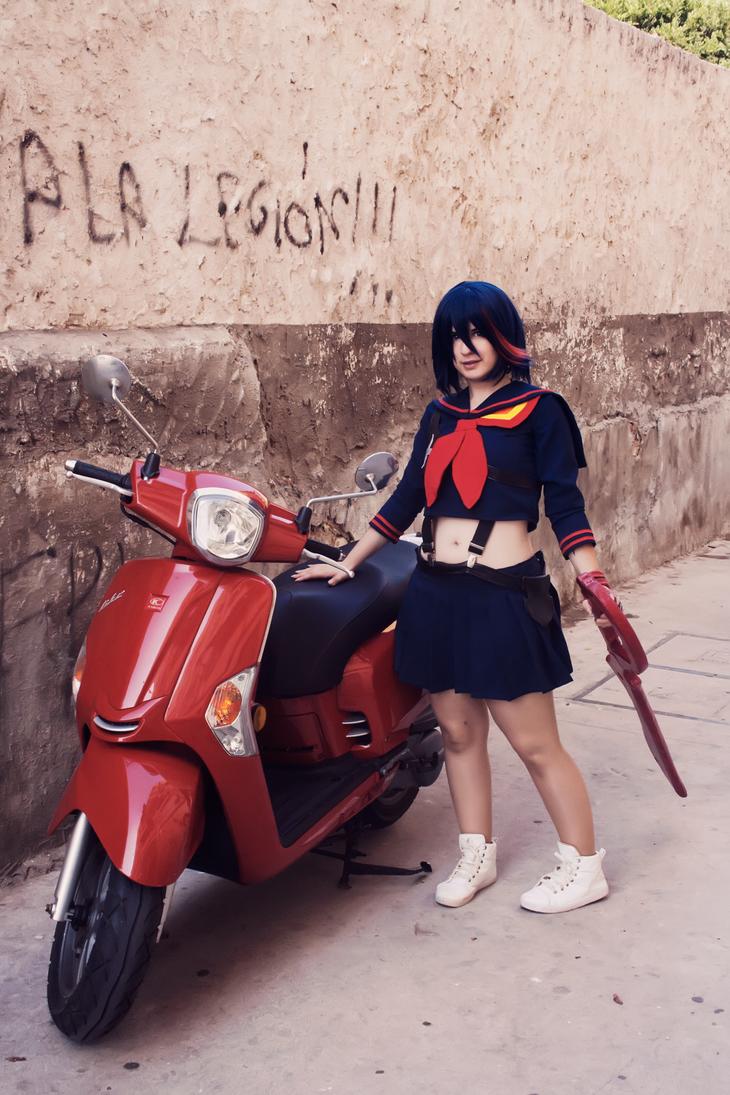 Ryuko Matoi from Kill la kill by AsakuraYumiChan