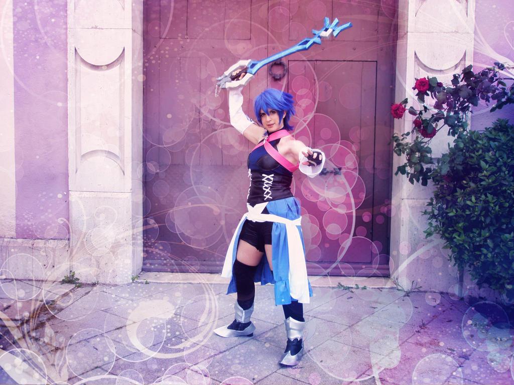 Aqua from Kingdom Hearts Birth By Sleep by AsakuraYumiChan