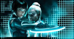 Tron Legacy's Ladies