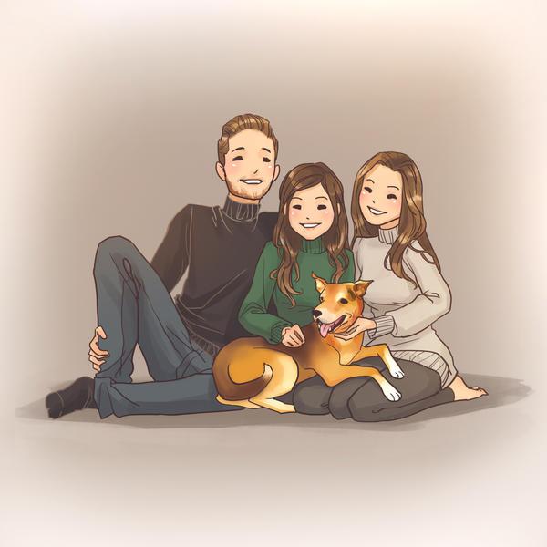 Family Portrait by sscindyss