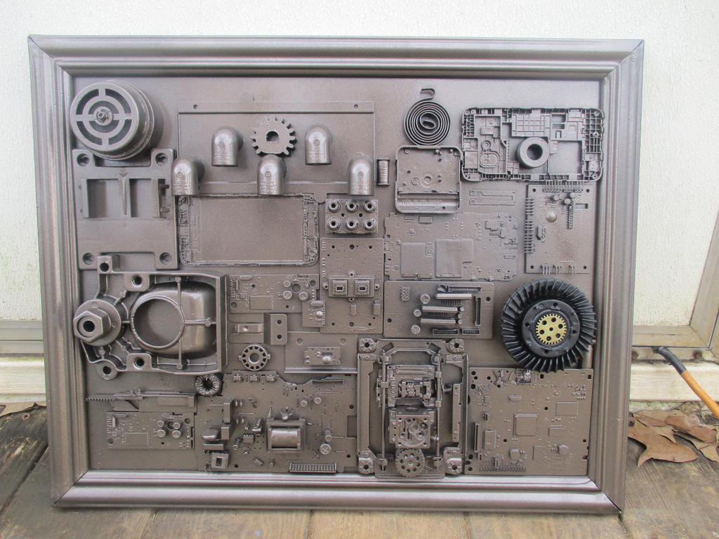 Industrial Wall Art By Antibioticjim On Deviantart
