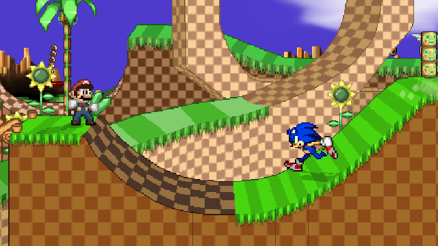 Mario And Sonic Crossover! by Max2809