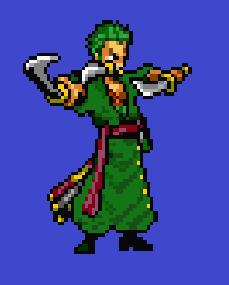 Pixel Zoro (Edited) by Max2809