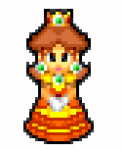 Pixel Princess Daisy by Max2809