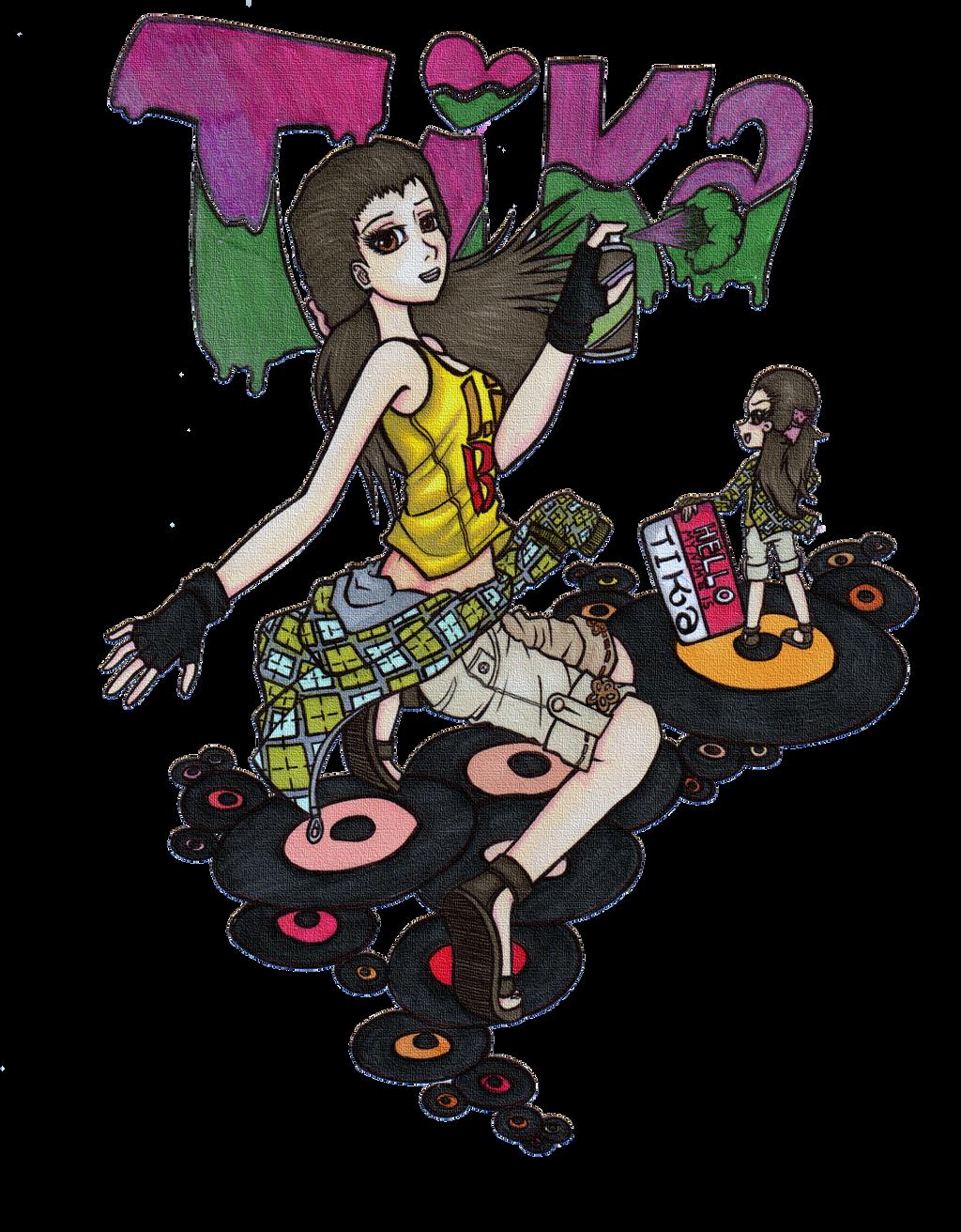 Tika: Contest Entry by Haiyaku-art