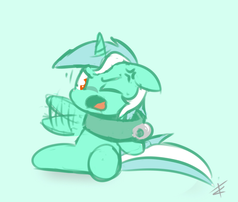 Poor Lyra by CradeElcin