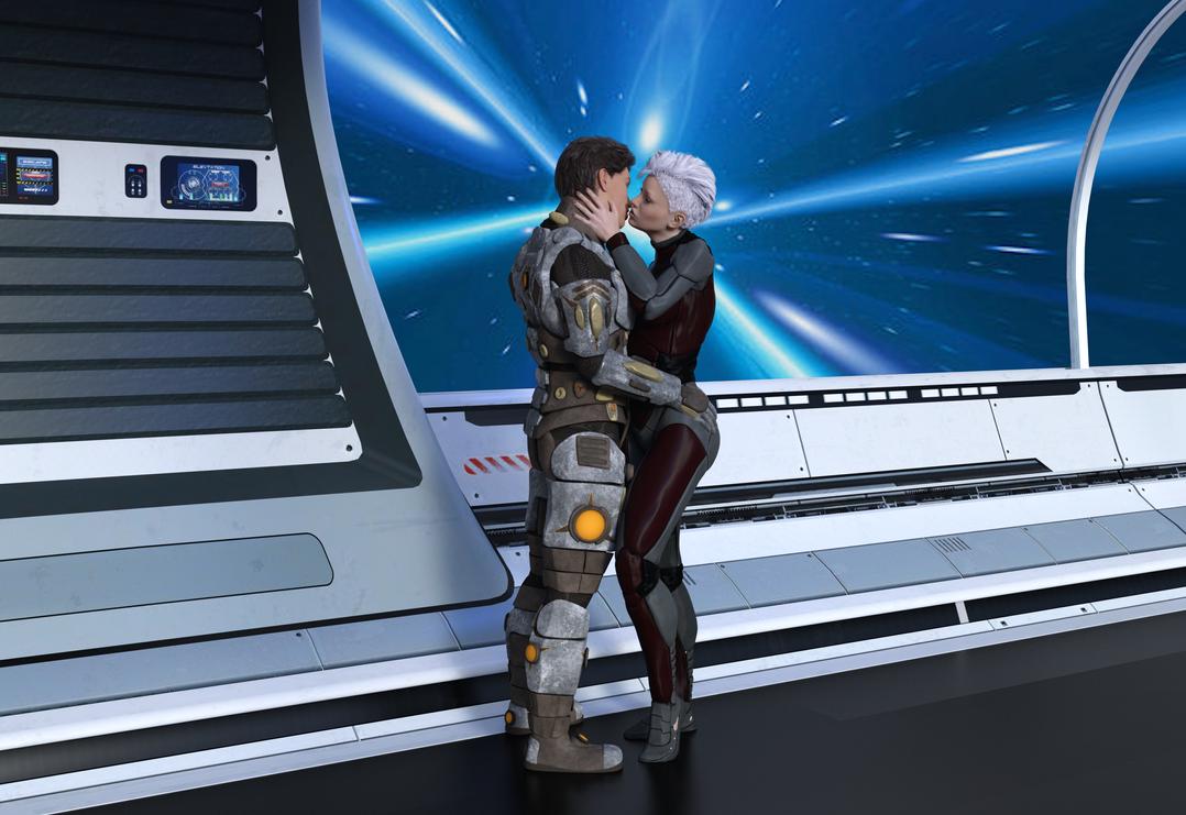 FTL Kiss by DuneDrifter