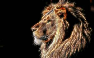 Fractalius Lion by DuneDrifter