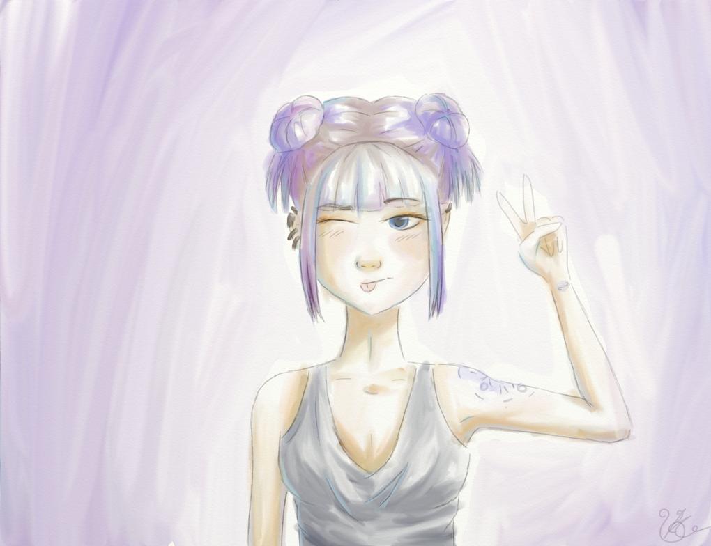 Girl Tatoo by OpsidianStar64