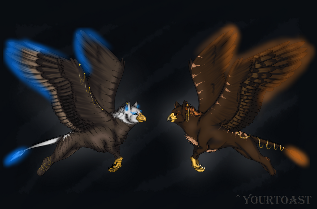 CUSTOM - Gryphon Adopts by Yourtoast