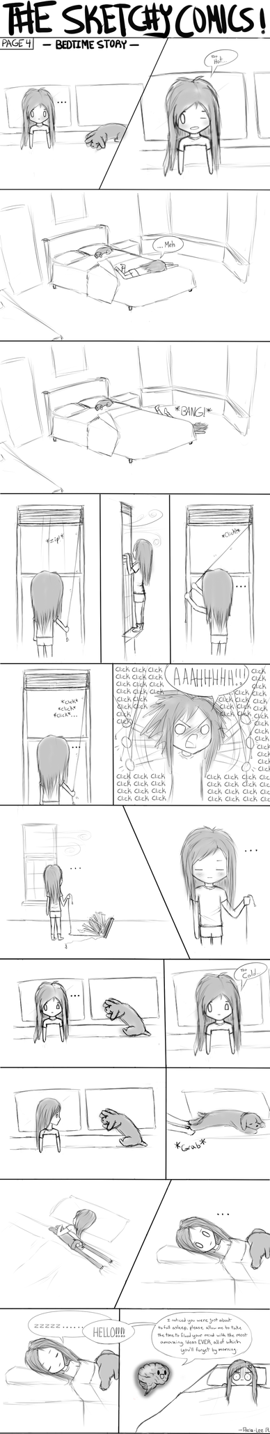 The Sketchy Commics #4 by Yourtoast