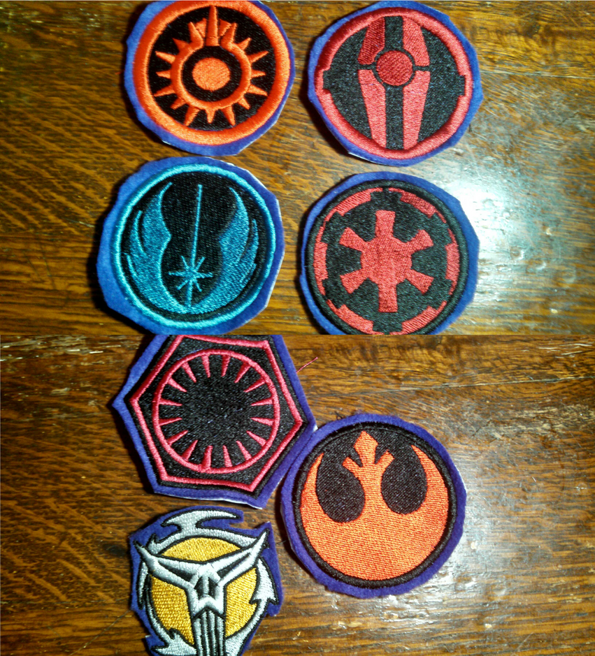 Star Wars Embroidered Badges By Lokiie1984 On DeviantArt