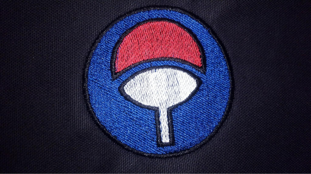 Naruto Uchiha Clan Symbol Embroidered Patch By Lokiie1984 On Deviantart
